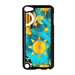 Musical Peace  Apple Ipod Touch 5 Case (black)