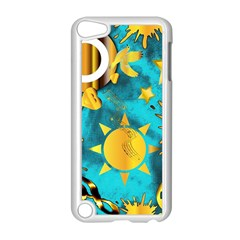 Musical Peace  Apple Ipod Touch 5 Case (white)
