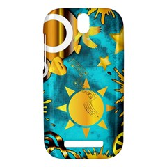 Musical Peace  HTC One SV Hardshell Case