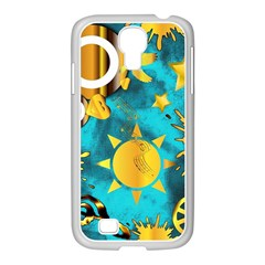 Musical Peace  Samsung Galaxy S4 I9500/ I9505 Case (white)
