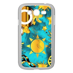 Musical Peace  Samsung Galaxy Grand DUOS I9082 Case (White)