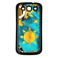 Musical Peace  Samsung Galaxy S3 Back Case (Black)