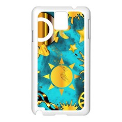 Musical Peace  Samsung Galaxy Note 3 Case (white)