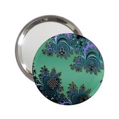 Celtic Symbolic Fractal Handbag Mirror (2 25 )