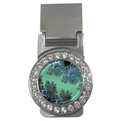 Celtic Symbolic Fractal Money Clip (CZ)