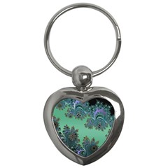 Celtic Symbolic Fractal Key Chain (Heart)