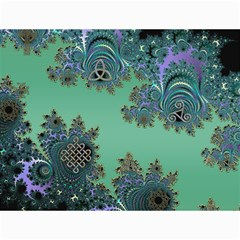 Celtic Symbolic Fractal Canvas 12  x 16  (Unframed)