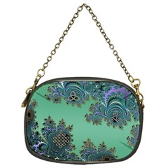 Celtic Symbolic Fractal Chain Purse (Two Sided)