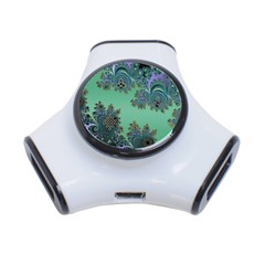 Celtic Symbolic Fractal 3 Port Usb Hub