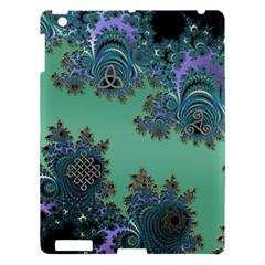 Celtic Symbolic Fractal Apple iPad 3/4 Hardshell Case