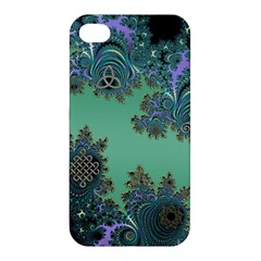Celtic Symbolic Fractal Apple iPhone 4/4S Premium Hardshell Case