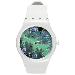 Celtic Symbolic Fractal Plastic Sport Watch (medium)