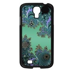 Celtic Symbolic Fractal Samsung Galaxy S4 I9500/ I9505 Case (Black)