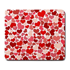 Pretty Hearts  Large Mouse Pad (Rectangle)