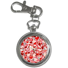 Pretty Hearts  Key Chain Watch