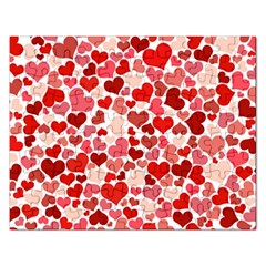 Pretty Hearts  Jigsaw Puzzle (Rectangle)