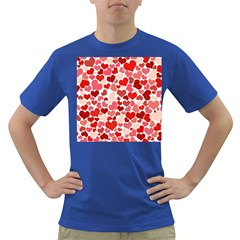 Pretty Hearts  Men s T-shirt (Colored)