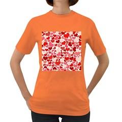 Pretty Hearts  Women s T Shirt (colored)