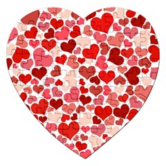 Pretty Hearts  Jigsaw Puzzle (Heart)