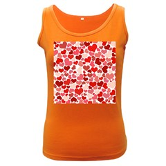 Pretty Hearts  Women s Tank Top (dark Colored)