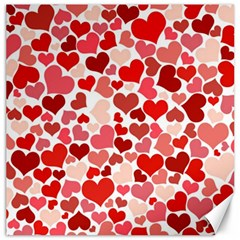 Pretty Hearts  Canvas 20  x 20  (Unframed)