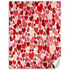 Pretty Hearts  Canvas 18  x 24  (Unframed)