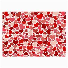 Pretty Hearts  Glasses Cloth (Large)