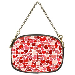Pretty Hearts  Chain Purse (two Sided)