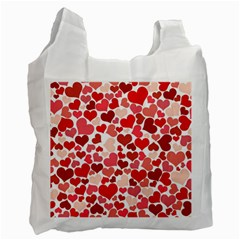 Pretty Hearts  Recycle Bag (Two Sides)