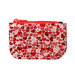 Pretty Hearts  Coin Change Purse