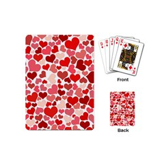 Pretty Hearts  Playing Cards (Mini)