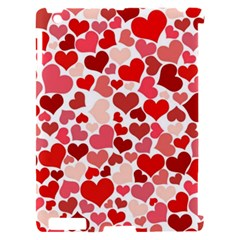 Pretty Hearts  Apple iPad 2 Hardshell Case (Compatible with Smart Cover)