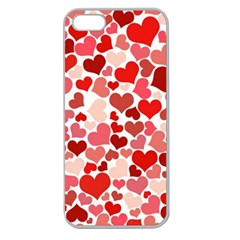 Pretty Hearts  Apple Seamless iPhone 5 Case (Clear)