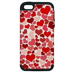 Pretty Hearts  Apple iPhone 5 Hardshell Case (PC+Silicone)