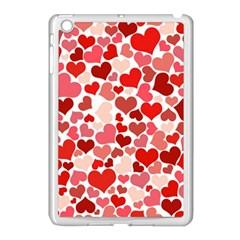 Pretty Hearts  Apple Ipad Mini Case (white)