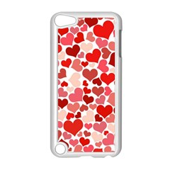 Pretty Hearts  Apple iPod Touch 5 Case (White)