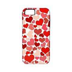 Pretty Hearts  Apple Iphone 5 Classic Hardshell Case (pc+silicone)
