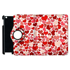 Pretty Hearts  Apple iPad 3/4 Flip 360 Case