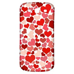 Pretty Hearts  Samsung Galaxy S3 S III Classic Hardshell Back Case