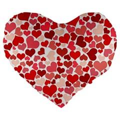 Pretty Hearts  19  Premium Heart Shape Cushion