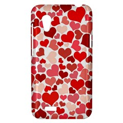 Pretty Hearts  HTC Desire VT T328T Hardshell Case