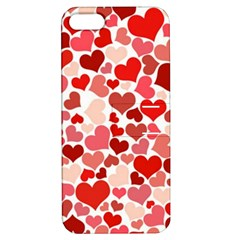 Pretty Hearts  Apple Iphone 5 Hardshell Case With Stand