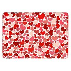 Pretty Hearts  Samsung Galaxy Tab 8 9  P7300 Flip Case