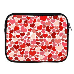 Pretty Hearts  Apple iPad Zippered Sleeve