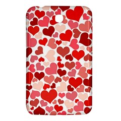 Pretty Hearts  Samsung Galaxy Tab 3 (7 ) P3200 Hardshell Case