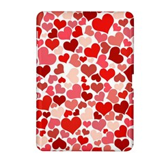 Pretty Hearts  Samsung Galaxy Tab 2 (10.1 ) P5100 Hardshell Case