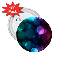 Deep Bubble Art 2.25  Button (100 pack)