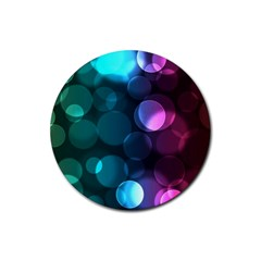 Deep Bubble Art Drink Coasters 4 Pack (Round)