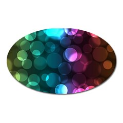 Deep Bubble Art Magnet (Oval)