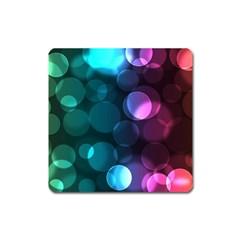 Deep Bubble Art Magnet (Square)